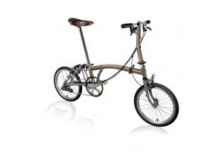 Brompton Steel/Titanium S6E Folding Bike